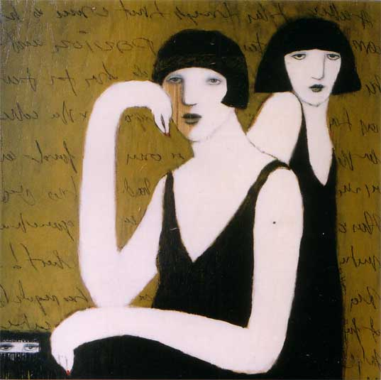 """Three Women"" by artist Cynthia Markert"